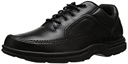 Rockport Men\'s Eureka Walking Shoe,Black,9 W