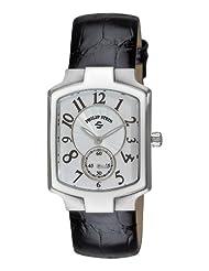 Philip Stein Women's 21-FMOP-ABS Classic Black Alligator Leather Strap Watch