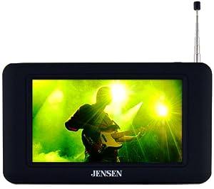 Jensen JDTV-430 4.3-Inches TV Tuner/Receiver - Black
