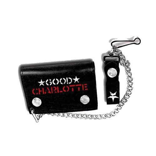 Bioworld Merchandising - Good Charlotte Chain Wallet Logo by