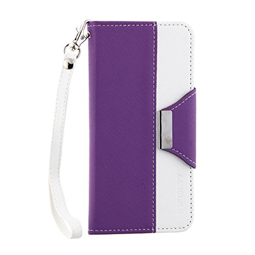 New Gdealer 4.7 Inch Wallet Carrying Mobile Stand Case and Cover for Iphone 6, 4.7-inch with Interna...