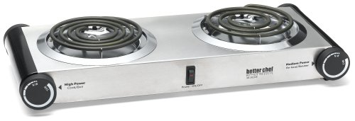 Buy Better Chef Buffet Burner Table Top Dual