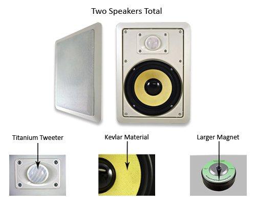 Imagen de Acústica de audio HD-650 600 Watt Par 6.5