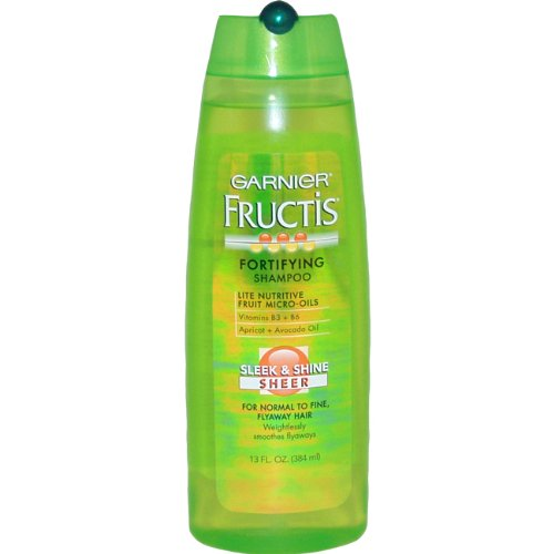 Garnier - Fructis Sleek & Shine Shampoo Fortificante 384 ml