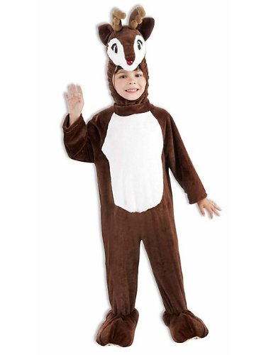 Red Nosed Reindeer Mascot Costume Child