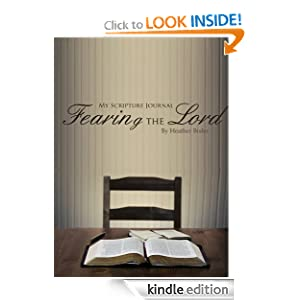 FREE KINDLE BOOK: My Scripture Journal: Fearing the Lord