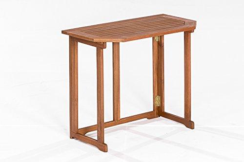 Klappentisch Linz 90x51cm aus Eukalyptus Holz, FSC®-zertifiziert