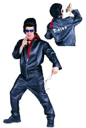 Adult Leather T-Bird Costume Jacket
