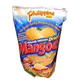 Phillippine Brand Naturally Delicious Dried Mangoes Tree Ripened Value Bag 30 Ounces Dried Mango