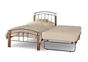 Serene Tetras 3ft Single Guest Bed Frame Silver       reviews