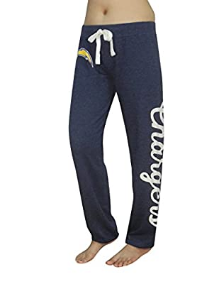 NFL SAN DIEGO CHARGERS Womens Lounge / Yoga Pants (Vintage Look)