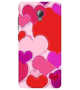 Chiraiyaa Designer Printed Premium Back Cover Case for Lenovo Vibe P1 (heart boy girl friend valentine miss kiss) (Multicolor)