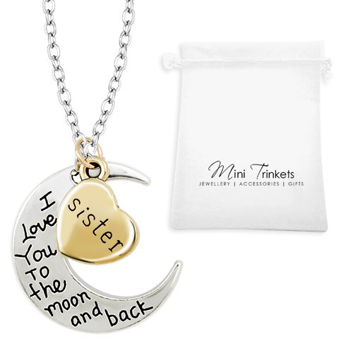 Gold / Silver I Love You To The Moon & Back Necklace