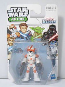 1 X Star Wars Jedi Force Commander Cody (Playskool Heroes)