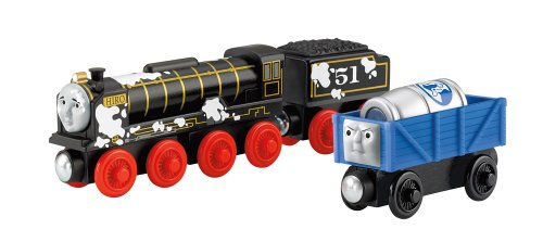 Fisher-Price Thomas the Train Wooden Railway Hiro's Sticky Spill