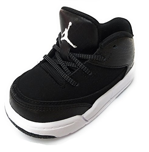 Nike Jordan Flight Origin 3 Toddlers Athletic Sneakers (Black/White-Black, 10c)