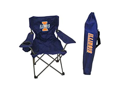 NCAA Illinois Illini Youth Folding Chair With Carrying Case