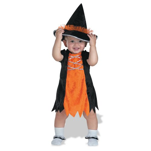 Pint-Size Witch Costume: Baby's Size 12-18 Months