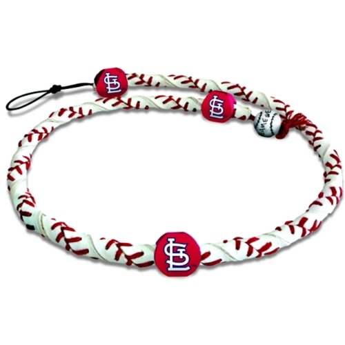 MLB St. Louis Cardinals Classic Frozen Rope Baseball Bracelet at Amazon.com