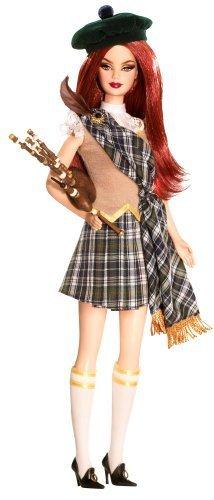Barbie-Dolls-Of-The-World-Scotland-by-Barbie-English-Manual
