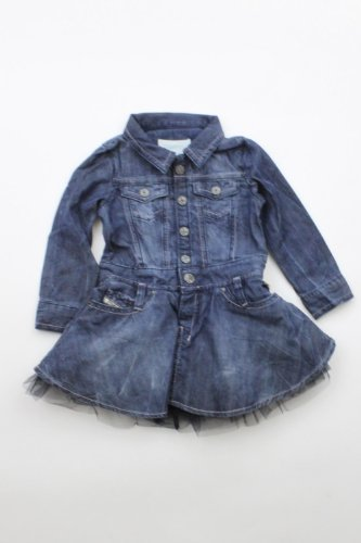New Diesel Denisky Denim Dress (10 Years/Eu36) front-63117