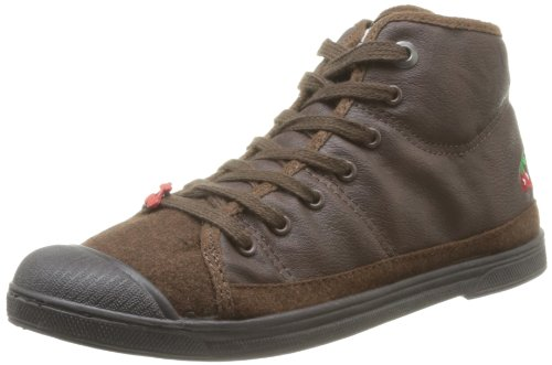 Le Temps des Cerises - Sneaker, Donna, Marrone (Marron (Mono Leather Dark Brown)), 37