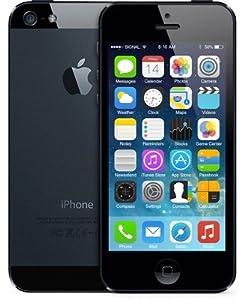 Apple iPhone 5 (Latest Model) - 16 GB - Black & Slate (Unlocked) Smartphone