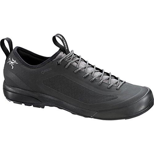 Arc'teryx Acrux SL GTX Approach Shoe - Men's Black/Stone, US 12.0/UK 11.5