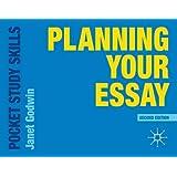 Planning Your Essay (Pocket Study Skills)