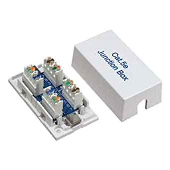 sf cable cat5e junction box 110 punch down. Black Bedroom Furniture Sets. Home Design Ideas