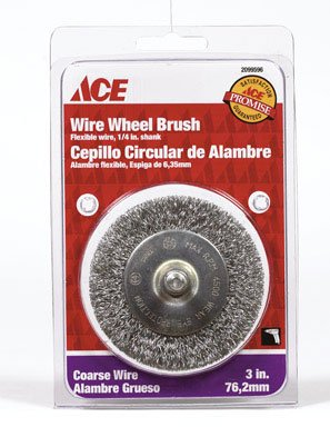 Ace Wire Wheel Brush (2099596) ace camp sand peg