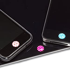 JAVOedge Home Button Stickers (Dots)