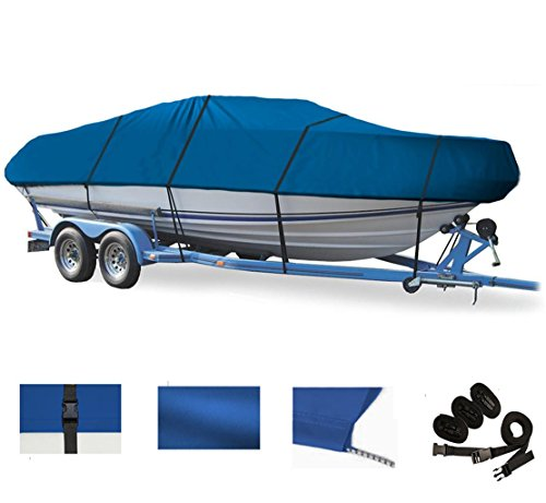 BLUE, GREAT QUALITY BOAT COVER FOR Sea Ray F-16 XR Sea Rayder Jet 1993-2012