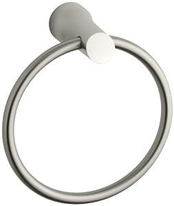 Essentials Towel Ring in Brushed Nickel InfinityFinish TM