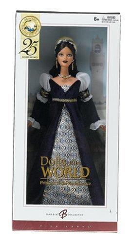 Imagen de Muñecas del Mundo: la Princesa de la Barbie del renacimiento