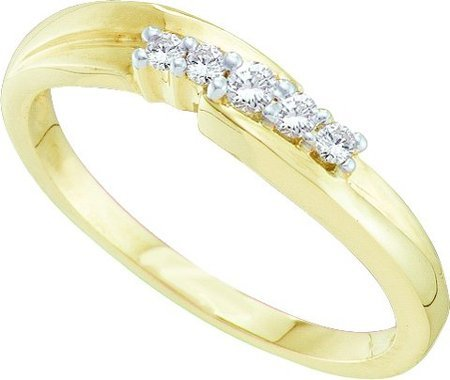 0.10CTW DIAMOND PROMISE RING