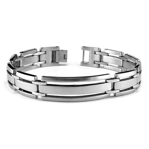 Stainless Steel Men's Bracelet 8.5 Inches