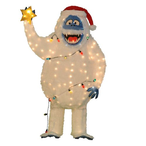 Abominable snowman christmas decorations for indoors and for Abominable snowman outdoor decoration
