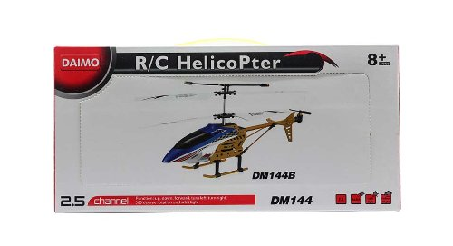 Dm144B 2.5-Ch Infrared Remote Control Rc Helicopter-Dm144B, Red - (Premium Quality)
