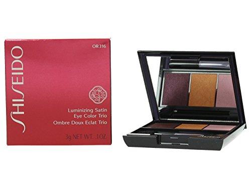 Shiseido Luminizing Satin Eye Color Trio palette ombretti 3 colori n. OR316 floracouture