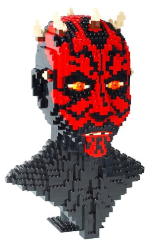 Lego Star Wars Episode 1 Darth Maul Sculpture By Lego