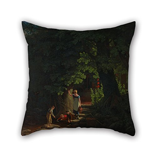 Beautifulseason Cushion Cases Of Oil Painting Francis Danby - Children By A Brook,for Boys,bar Seat,office,bar Seat,teens Girls,her 20 X 20 Inches / 50 By 50 Cm(double Sides) (Killer Bunnies Quest Green compare prices)