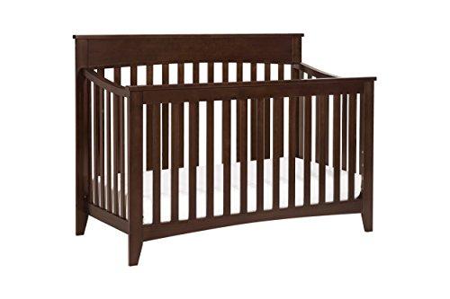 Davinci Grove 4-In-1 Convertible Crib, Espresso front-1032434