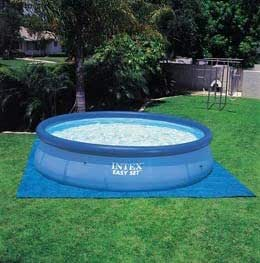12ft x 36in intex easy set round inflatable above ground for Above ground swimming pools uk