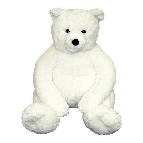 Melissa & Doug Giant Loveable Plush White Teddy Bear