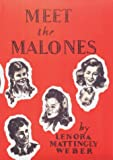 Meet the Malones (Beany Malone) (0963960733) by Weber, Lenora Mattingly