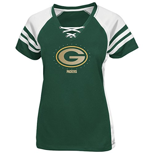 Green Bay Packers Women'S Majestic Nfl Draft Me Vii Jersey Top Shirt - Green