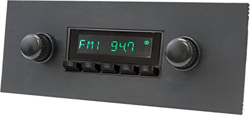 RetroSound HB-415-36-96 Model Two Direct-Fit Radio for Classic Vehicle (Black Face and Buttons and Black Faceplate) (Datsun 240z Model Car compare prices)