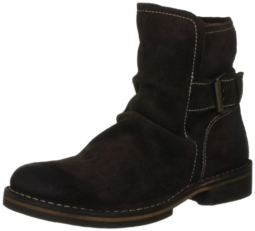 Fly London Women's Ning Suede Expresso Ankle Boots P210727008 4 UK