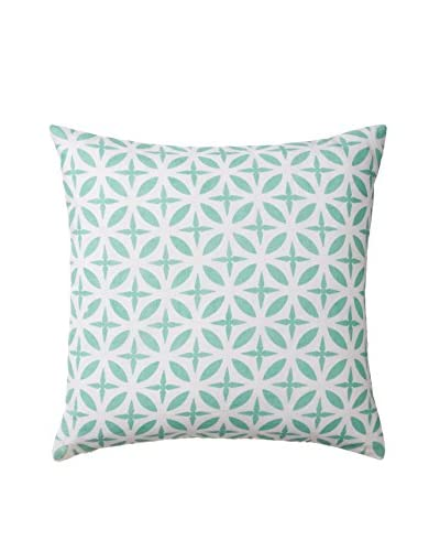 Allem Studio Troy Pillow, Seafoam